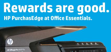 HP Purchasedge rewards program at Office Essentials