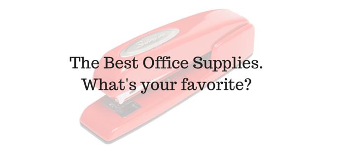 The Best Office Supplies