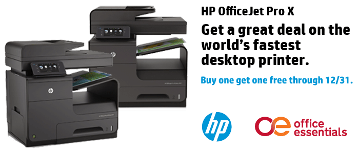 HP OfficeJet X Printers Are Buy One Get One Free