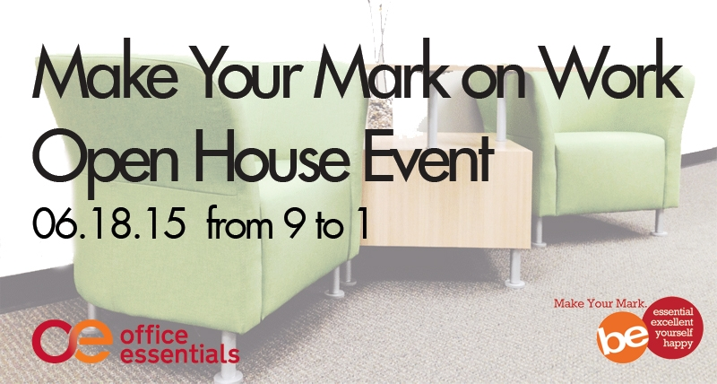 Make Your Mark On Work Open House - June 2015