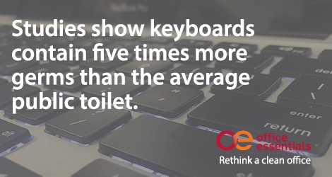 Your Keyboard Is Infested With Bacteria