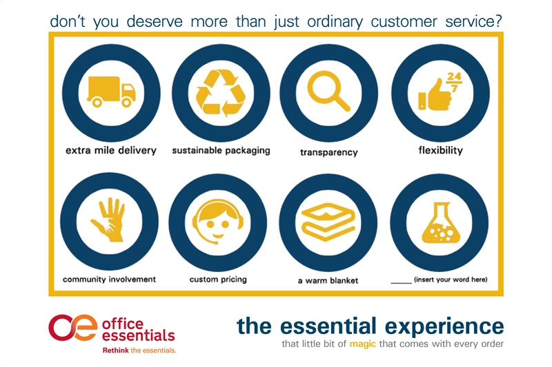 Essential Experience - Customer Service at Office Essentials