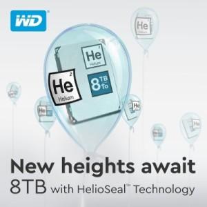 Western Digital Helium Hard Drives