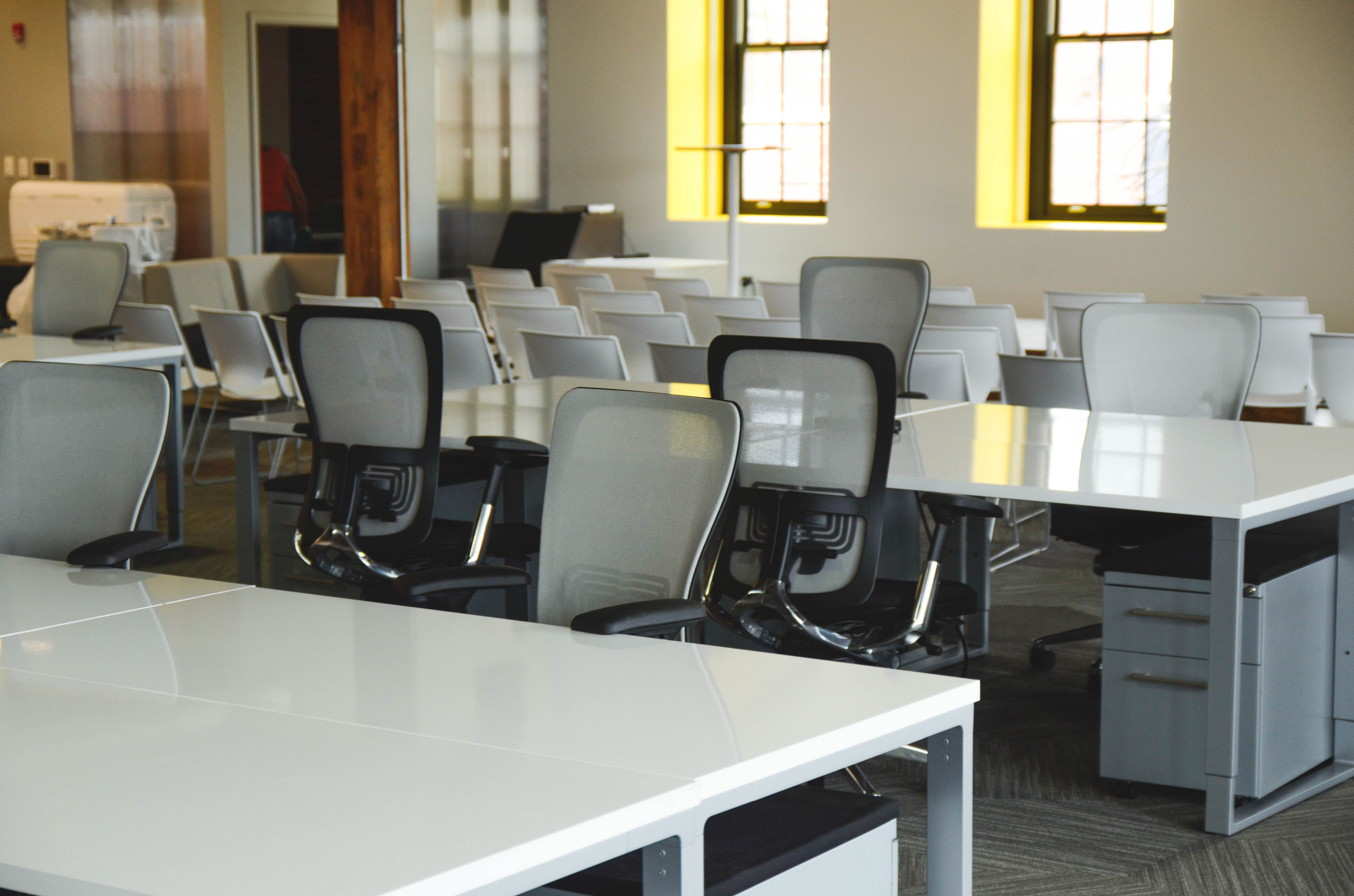 Why assigned desks are out and flexibility is in