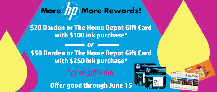 Buy More HP Ink, More Rewards