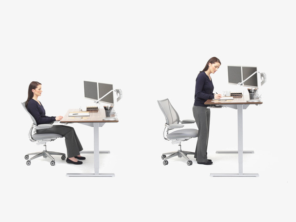 Standing Desks Lead To Increased Productivity,