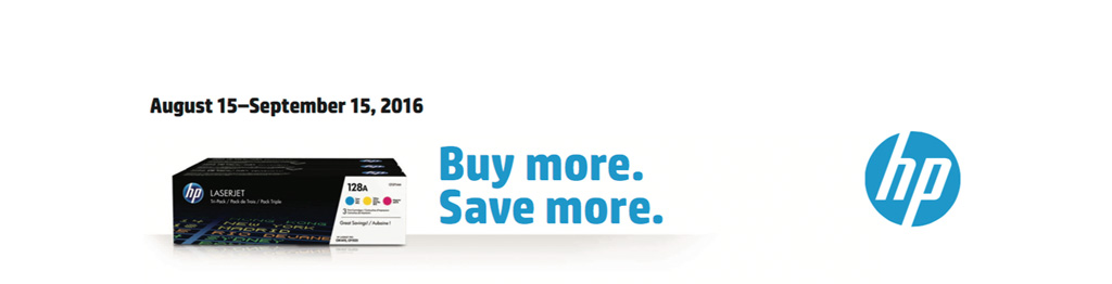 Buy more save more HP Toner Offer