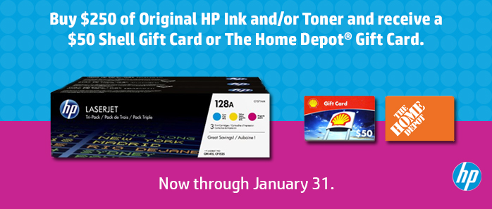 Buy more save more January 2017 HP Toner Offer