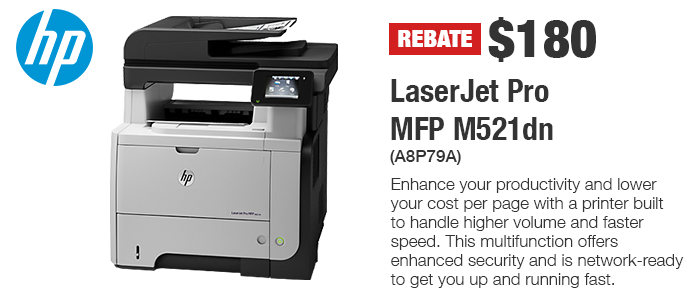 HP Featured Printer of the Month For December 2017