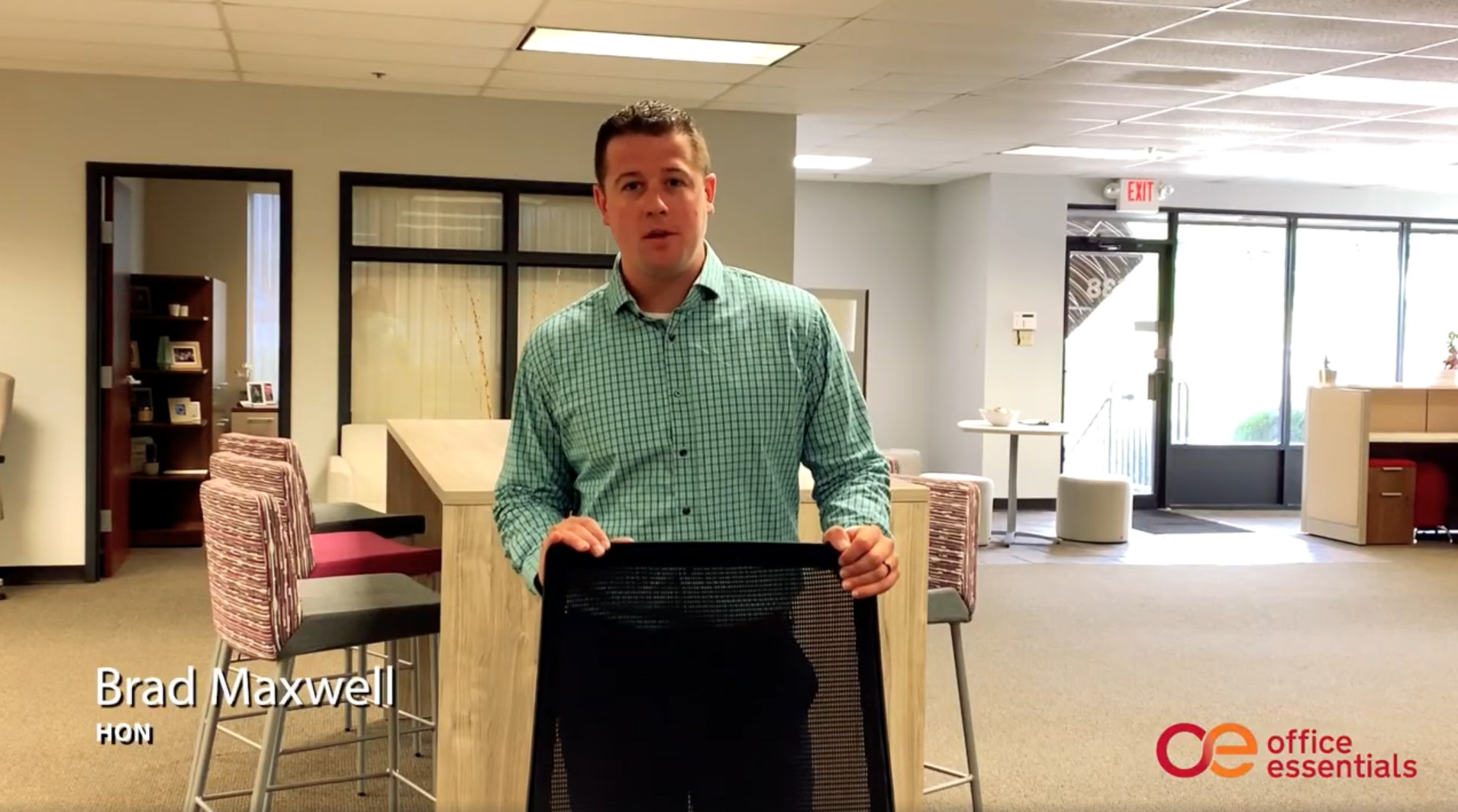 How to adjust your office chair correctly