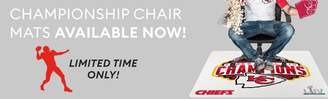 Kansas City Chiefs Chair Mat