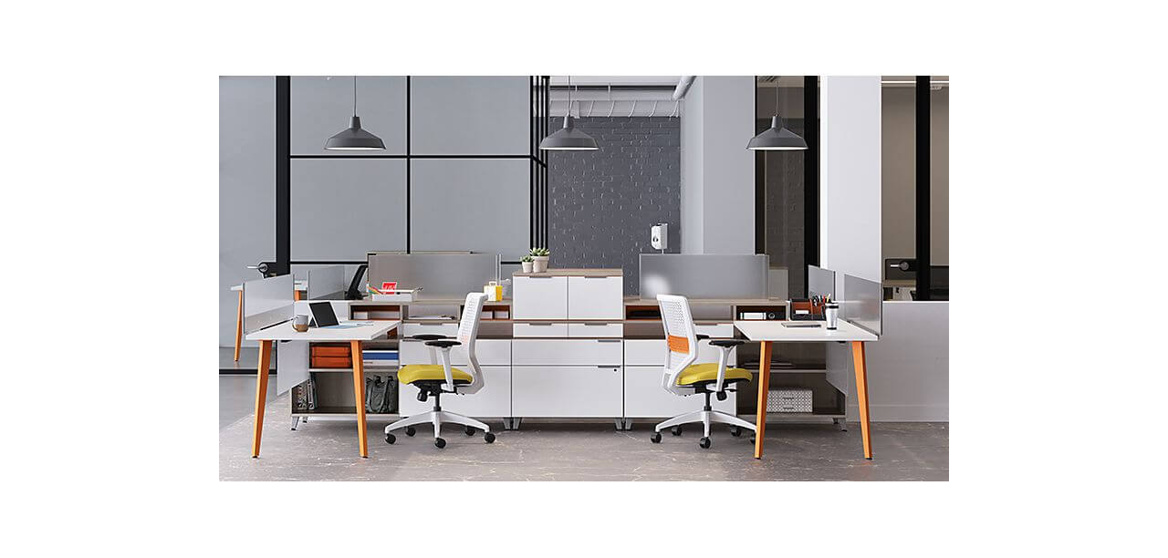 Let us help you reconfigure your office furniture  in accordance with social distancing guidelines and help your employees feel safe about returning to work after COVID-19.